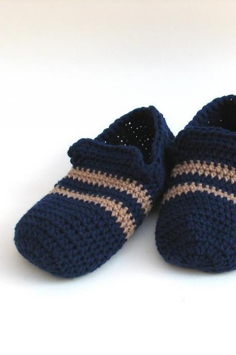 Men's Slippers, Crochet Pattern PDF,Easy, Great for Beginners, Shoes Crochet Pattern Slippers, Pattern No. 23