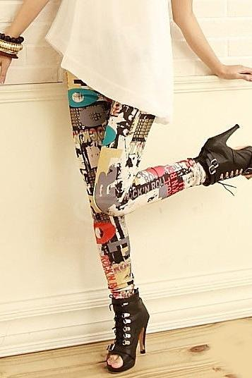 Adorable Printed Leggings