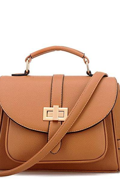 Retro Front Pocket Handbag