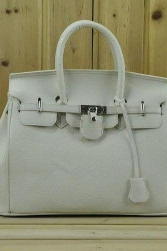 Casual Shoulder white Totes Woman Handbag