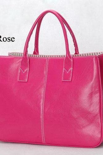 Fashion Shoulder rose Totes Woman Handbag
