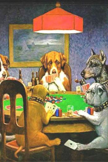 CRAFTS Dogs PLaying Poker Cross Stitch Pattern***LOOK***Buyers Can Download Your Pattern As Soon As They Complete The Purchase