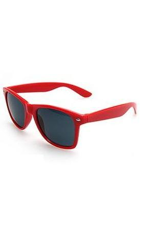 Red Cool Party Wayfarer Fashion Unisex Sunglasses