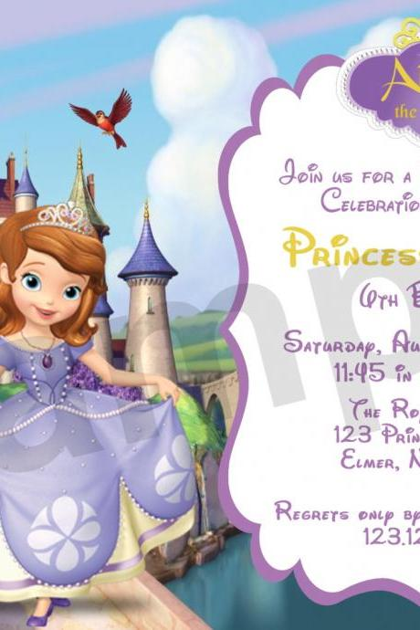 Sofia Birthday Invitation (Digital File)
