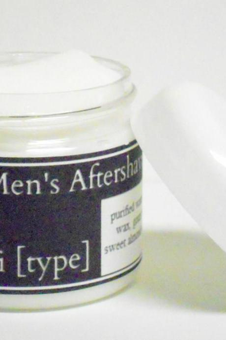 Mens Aftershave Cream- Choose Your Own Scent
