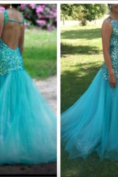 Pd334 Charming Prom Dress,Mermaid Prom Dress,Backless Prom Dress,sequined prom Dress