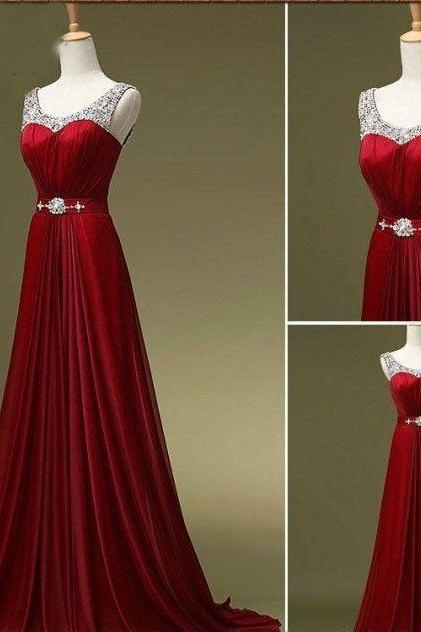long Evening dress 2017 new arrival fashion women chiffon formal dresses party evening elegant evening gowns