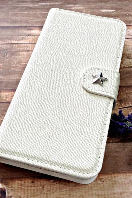 Star iPhone 6 wallet case, iPhone 6 plus wallet case, iPhone 5 5s wallet case