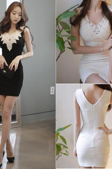 Fashion Women Bandage Bodycon Evening Sexy Party Cocktail Sleeveless Mini Dress