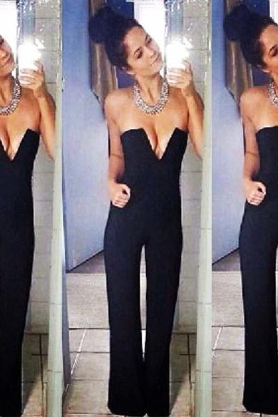 Bodycon Jumpsuit Trousers Rompers