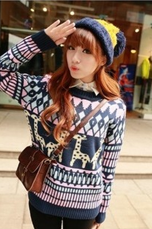 Lovely Giraffe Sweater