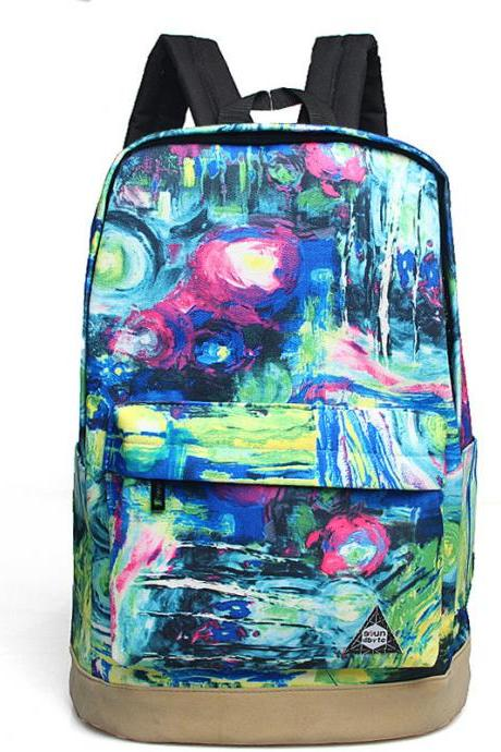 Dreaming Design Casual Canvas Backpack