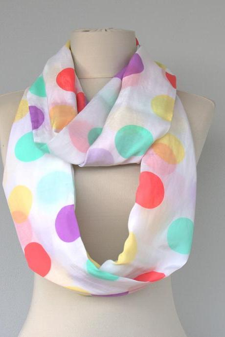 womens summer scarf pastel infinity scarf spring scarves easter acccessories