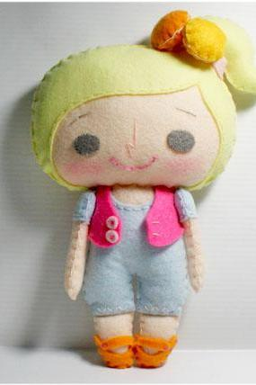 Vicky girl - PDF Doll Pattern