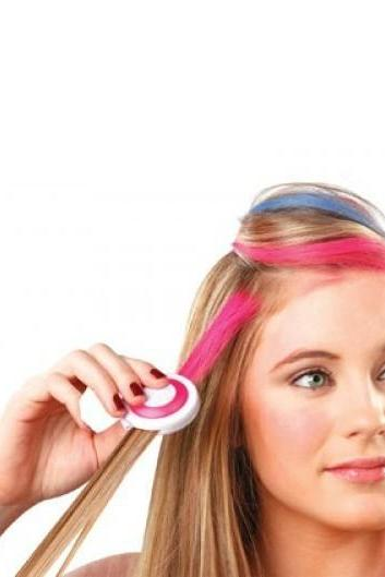 *Free Shipping* Hot selling 4 Colors/pack Fashion Hot Fast Temporary Pastel Hair Dye Color Disposable Hair Color X1023