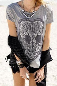 Loose round neck T-shirt VC32614MN