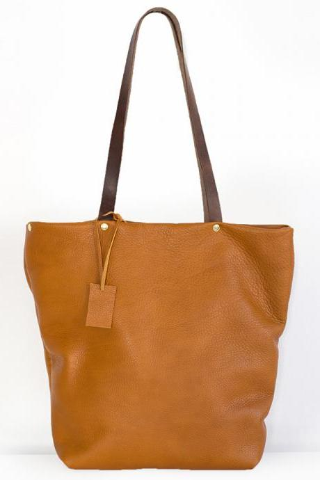 Brown Leather Tote,Leather Tote,rwoodb,Brown Leather Tote - Distressed Brown Leather Travel Bag - Leather Market bag-leather tote-leather tote bag