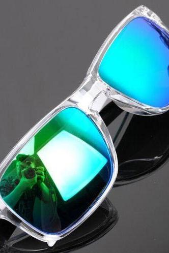 Sports adventure summer time transparent sunglasses
