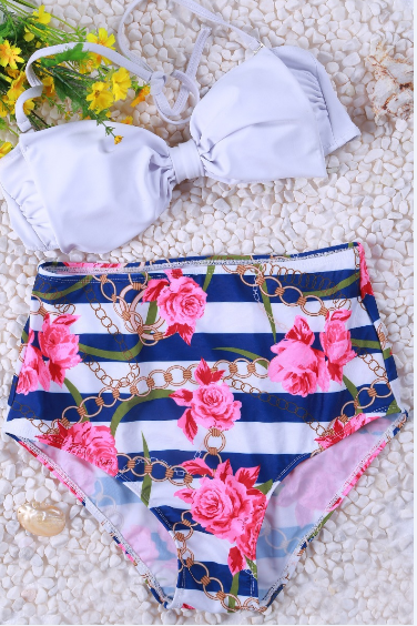 Retro Rose bikini swimsuit AX32905ax