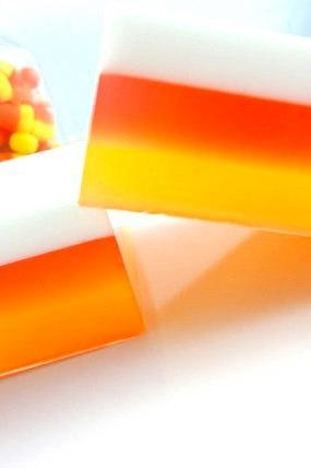 Candy Corn Soap - Halloween Soap