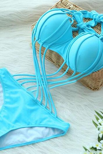 BIKINI LOOK STRING ONE PIECE SWIMSUIT MONOKINI VC40119MN