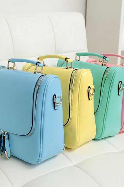 2014 New High-Grade Leather Multifunction Bag Lady