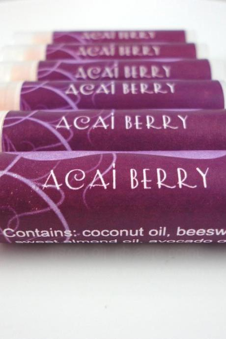 Acai Berry Luscious Lip Balm
