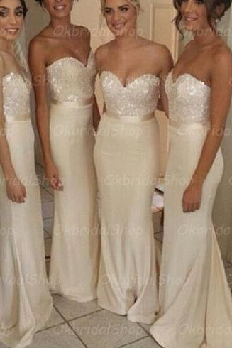 lace bridesmaid dresses, satin bridesmaid dress, long bridesmaid dress, cheap bridesmaid dresses, bridesmaid dress 2015, BM003
