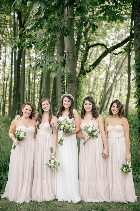 light pink bridesmaid dresses, chiffon bridesmaid dress, long bridesmaid dress, cheap bridesmaid dresses, bridesmaid dress 2015, BM023