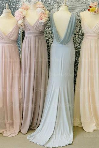off shoulder bridesmaid dresses, chiffon bridesmaid dress, long bridesmaid dress, cheap bridesmaid dresses, bridesmaid dress 2015, BM041