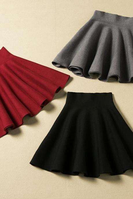 Lovely Mini Skirt For Autumn Or Winter, Nice Skirt 2015, Women Skirts HGF01