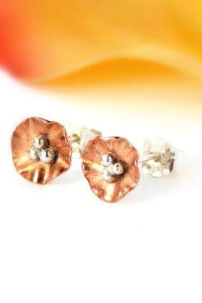 Mini Flower Post Earrings