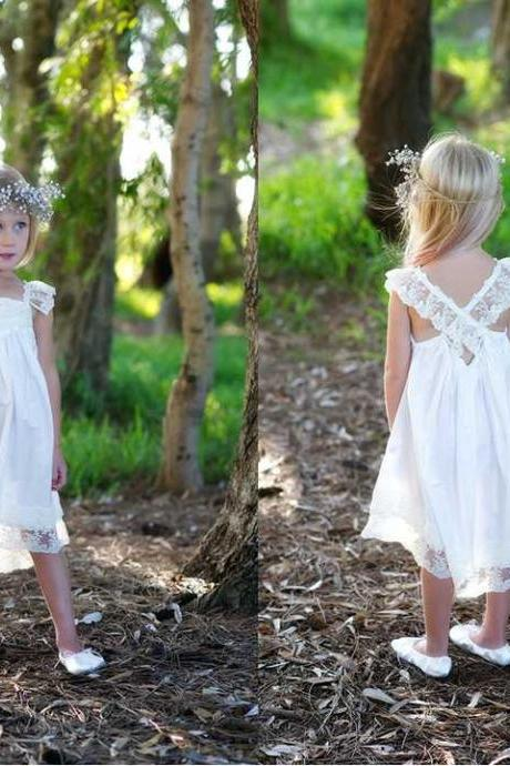preorder ivory dress Flower Girl Dress Flower Girl Dresses Cream dress Lace dress Rustic Girls Dress Baby Lace Dress Junior Bridesmaid
