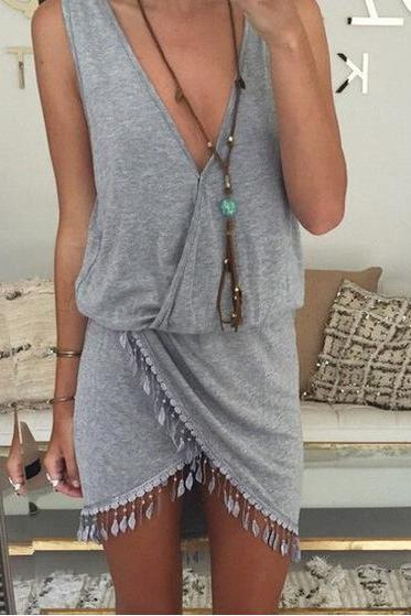 HOT TASSEL HOT DRESS