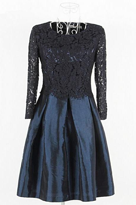 2015 European society of high-end boutique high-end embroidery lace embroidered dress