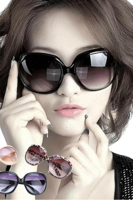 Women's Retro Shades Oversized Sunglasses