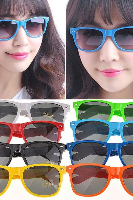 Classic Shades Unisex Candy Color SunGlasses