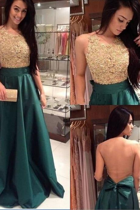 Sparkly prom dress, long prom dress, gorgeous prom dress, sequins prom dress, green prom dress, A-line prom dress, BD113
