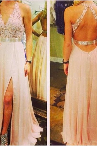 lace prom dresses, backless prom dress, unique prom dresses, sexy prom dresses, 2015 prom dresses, popular prom dresses, dresses for prom, CM437