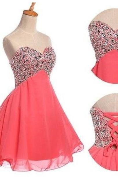 Custom Made A Line Sweetheart Short Prom Dresses, Dresses for Prom Party, Graduation Dresses