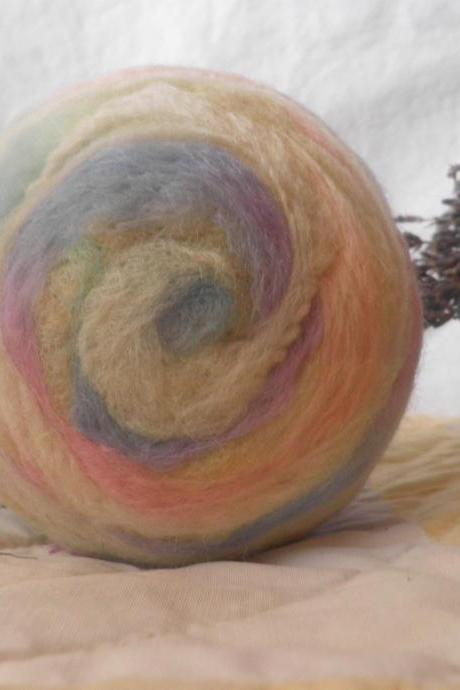 Large Wool Ball, Crib toy, Lavender filled calming toy for baby. Eco friendly, natural toy. Art wool ball. Unique baby gift. Keep sake gift.
