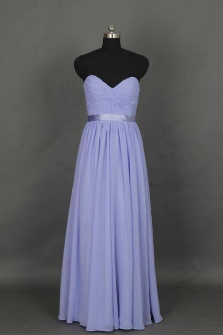 Purple Long Prom Dresses, Real Picture Dresses, Sweetheart Neck Chiffon Dresses , Modest Prom Dresses, Party Dresses