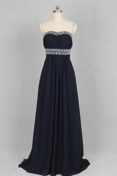 Black Strapless Prom Dresses, Beaded Prom Dresses, Ruched Prom Dresses, Backless Prom Dresses, Evening Dresses