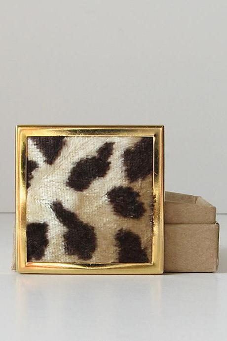 Animal Print Brooch