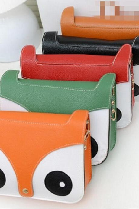 2015 in Europe and the small fox cartoon handbag 8 color fashion handbags Ms packets