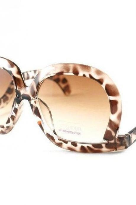Leopard unique frame new fashion sunglasses