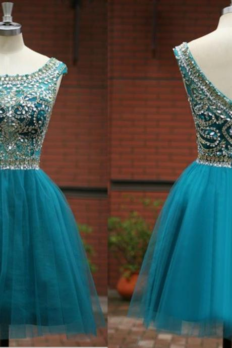 New Arrival Beading Short/Mini Graduation Dresses, Homecoming Dress, Real Made Graduation Dresses, Evening Dresses On Sale