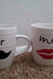 his and her coffee cups