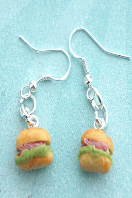 sub sandwich earrings
