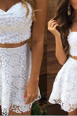 Sexy Lace White Dress #AD51011YT
